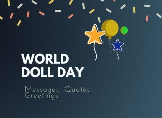 World Doll Day Messages