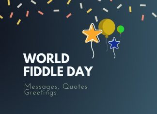 World Fiddle Day Messages