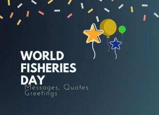 World Fisheries day Messages