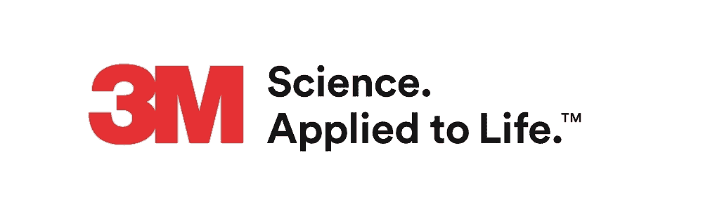 3m logo with slogan