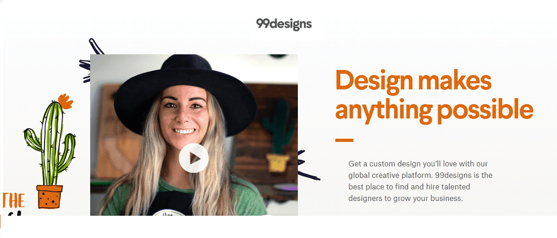 99designs review for small business