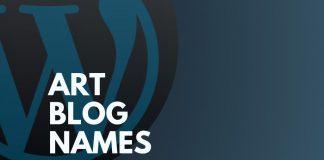 Art Blog Names