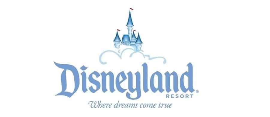 disneyland logo with slogan