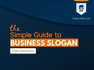 Guide for business slogan