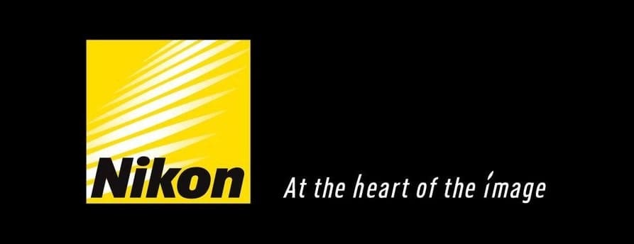 nikon logo with slogan