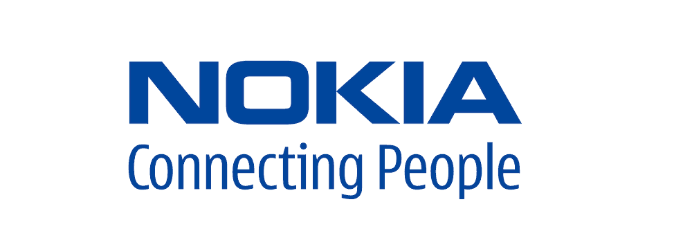 nokia logo with slogan