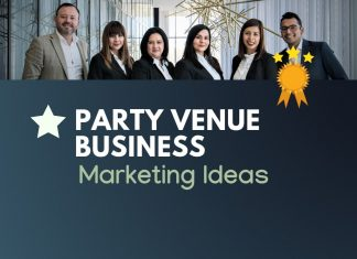 Party Venue business marketing
