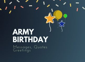 Army Birthday Messages
