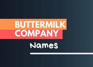 buttermilk business names