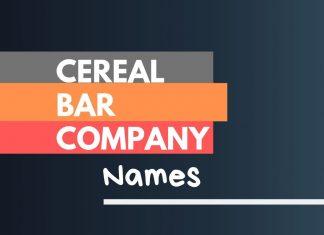 cereal bar company names