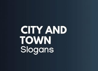 City and Town Slogans