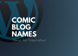 Comic Blog Names