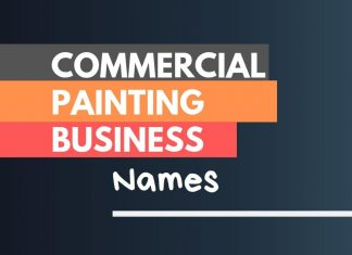 Commercial Painting Company names