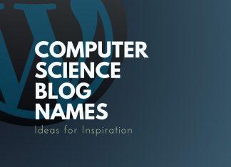Computer Science Blog Names