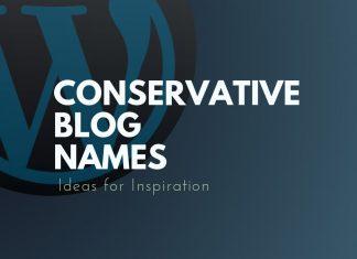 Conservative Blog Names