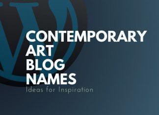 Contemporary Art Blog Names