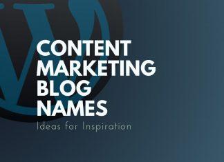 Content Marketing Blog Names