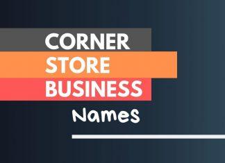 Corner Store Business Names