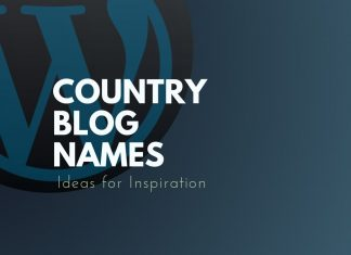 Country Blog Names
