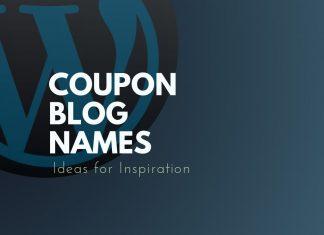Coupon Blog Names