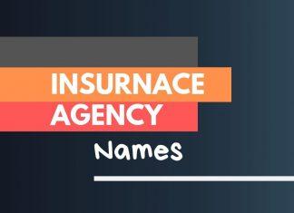 Insurance Agency Names