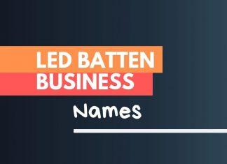 led batten business names