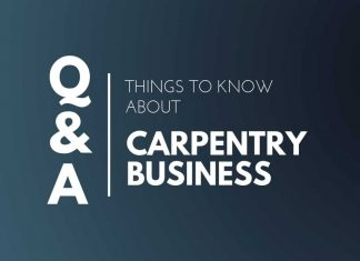 Things know About Carpentry Business