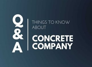 Things Know about Concrete Company