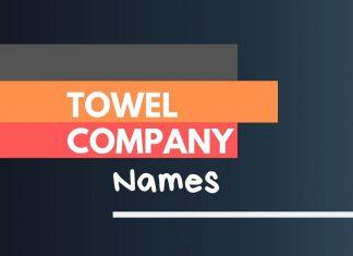 Towel Company Names