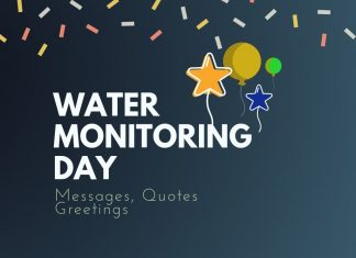 Water Monitoring Day Messages