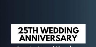 25th Wedding Anniversary Invitation Wordings