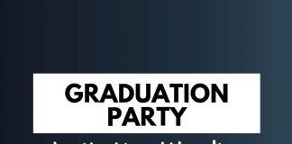 Graduation Party Invitation Wordings