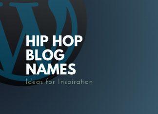 Hip Hop Blog Names