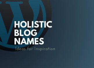 Holistic Blog Names