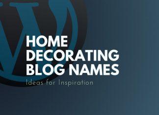 Decoration Blog Names