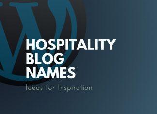 Hospitality Blog Names