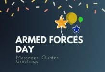 armed forces day messages