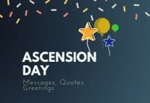 Ascension Day Messages