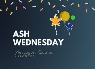 Ash Wednesday Messages