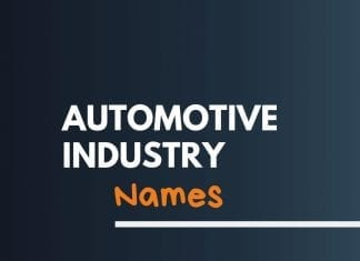 Automotive industry Related Names