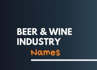 Beer Wine Industry Related Names