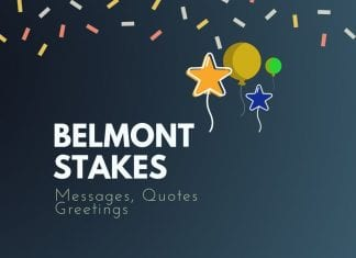 Belmont Stakes Messages