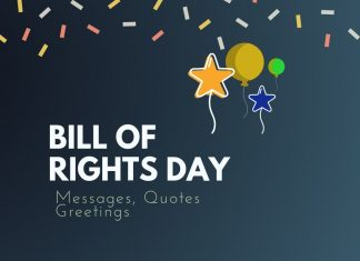 Bill of Rights Day Messages
