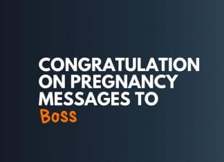 Pregnancy Congratulations Messages for Boss