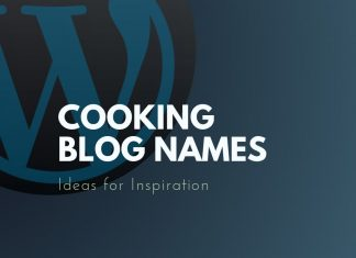 Cooking Blog Names