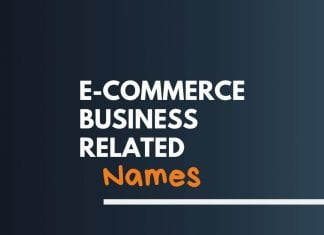 Ecommerce Related Names