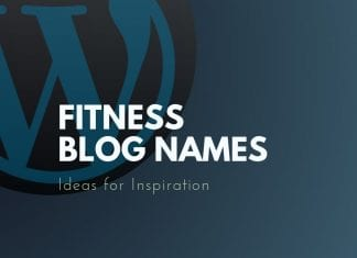 Fitness Blog Names