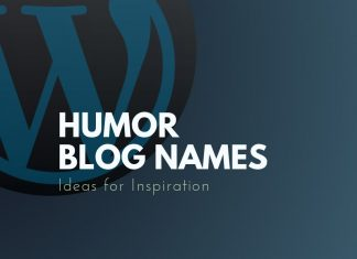 Humor Blog Names