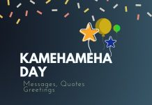 Kamehameha Day Messages
