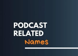 Podcast Business Related Names